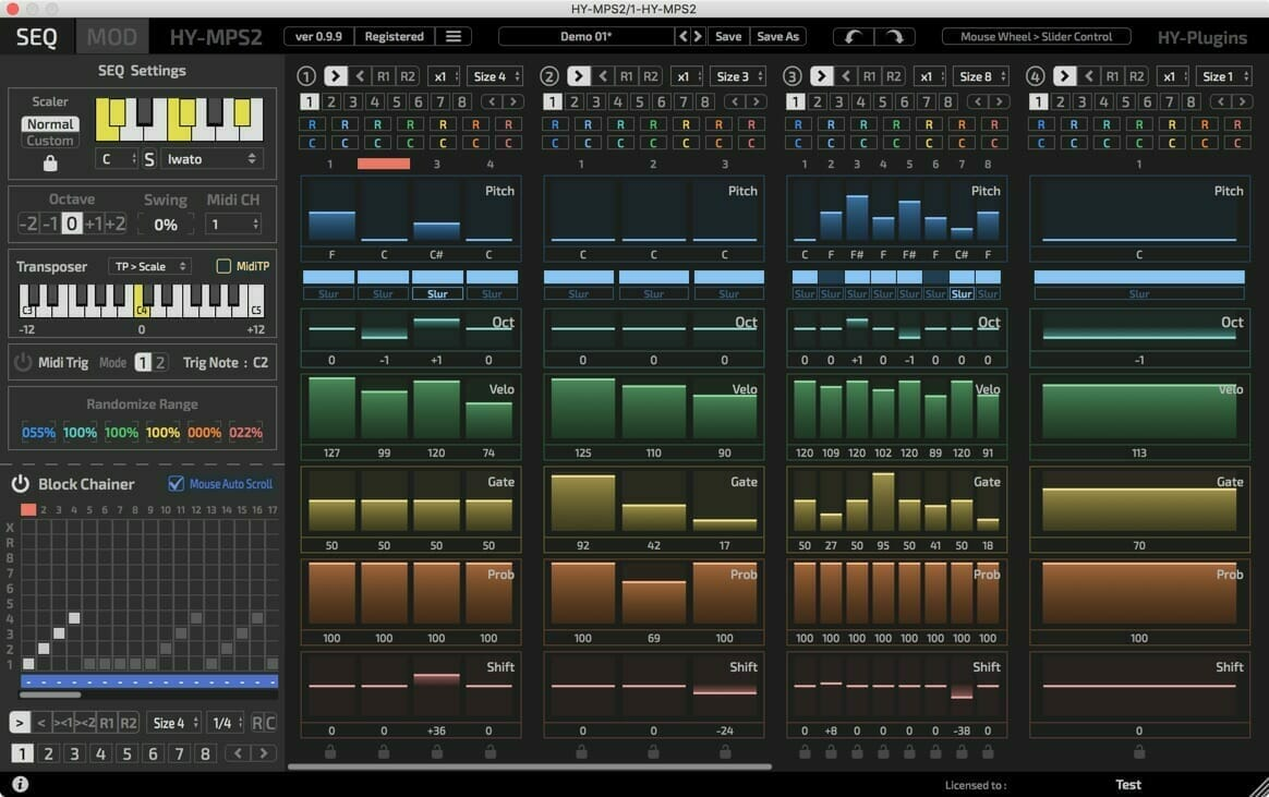 hy plugins sequencer